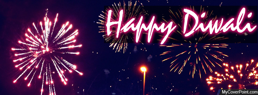 Happy Diwali Facebook Timeline Cover Photo