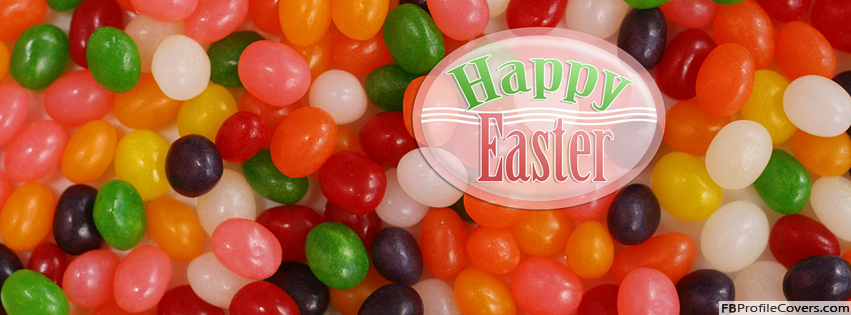 Happy Easter Facebook Timeline Cover Photo