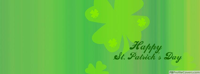 Happy St Patrick's Day FB Timeline Profile Cover