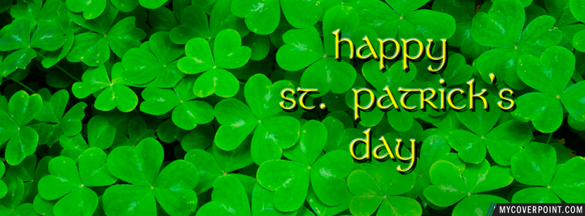 Happy St Patrick's Day Facebook Cover