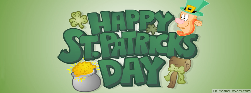 Happy St Patrick's Day Facebook Timeline Cover Photo