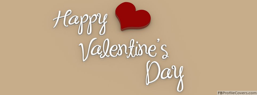 Happy Valentines Day FB Timeline Profile Cover Photo For Facebook Timeline Cover