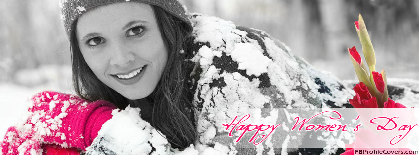 Happy Women's Day Facebook Timeline Profile Cover Photo For FB Timeline Profile Photo