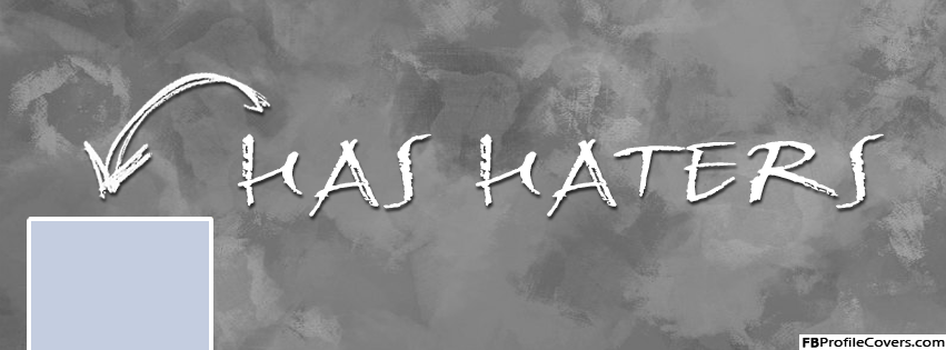 Has Haters Arrow Facebook Timeline Cover