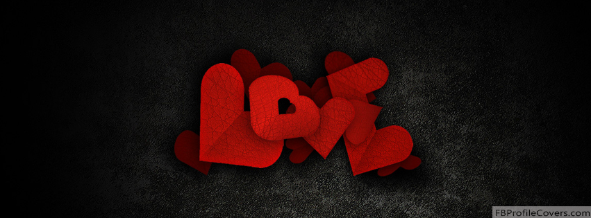 Heart Love Facebook Timeline Cover Photo