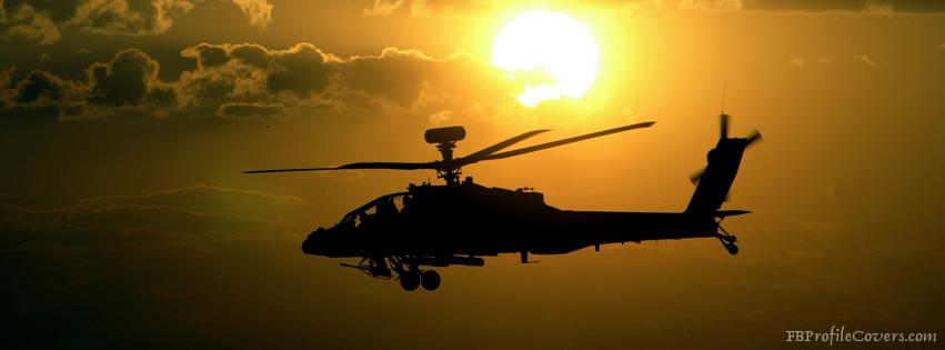 Helicopter Facebook Timeline Cover