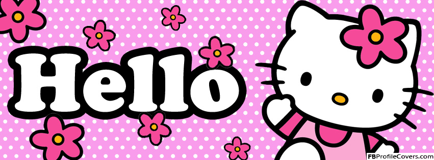 Hello Kitty Facebook Cover Picture
