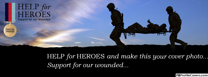 Help For Heroes Army Facebook Timeline Cover