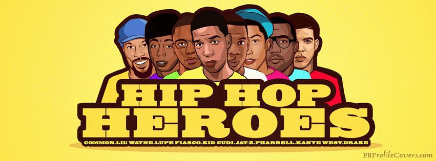Hip Hop Heroes Facebook Cover