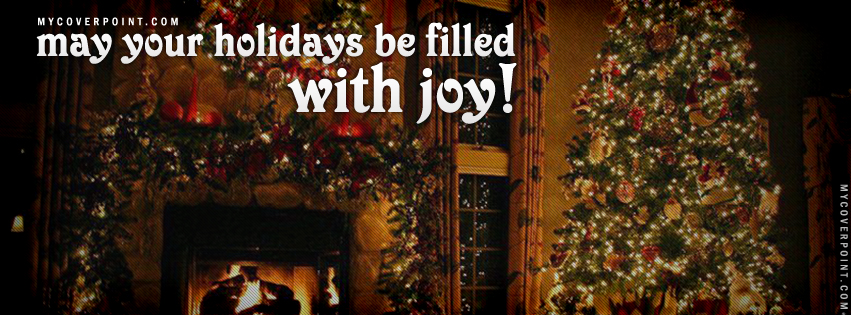 Holidays Quote Facebook Timeline Cover