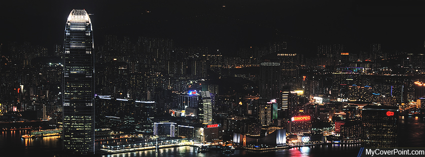 Hong Kong City Facebook Timeline Cover