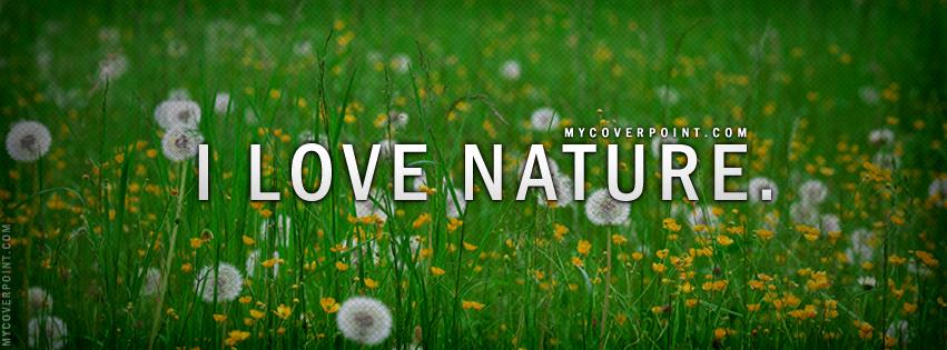 I Love Nature Home