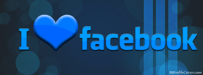 I love Facebook Timeline Cover Image