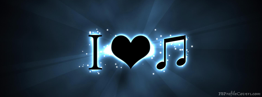 I love music FB Cover Pic