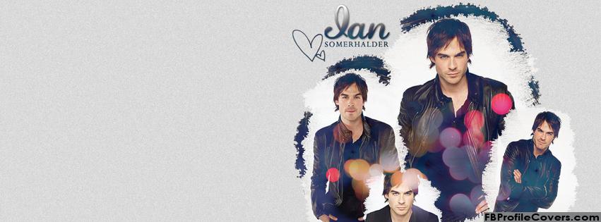 Ian Somerhalder Facebook Timeline Profile Cover Pic
