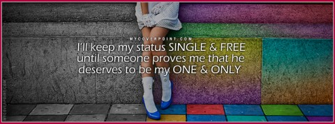 I'll Keep My Status Single