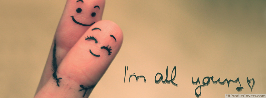 I'm All Yours Fingers Hugging Facebook Timeline Profile Cover Photo