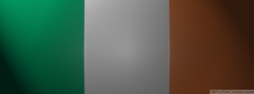 Irish Flag Facebook Timeline Cover