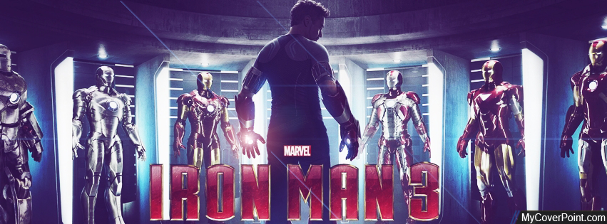 Iron Man 3 Facebook Timeline Cover