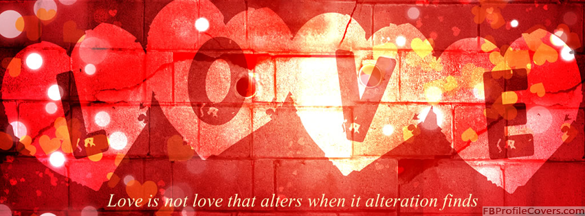 Is Not Love Facebook Timeline Cover
