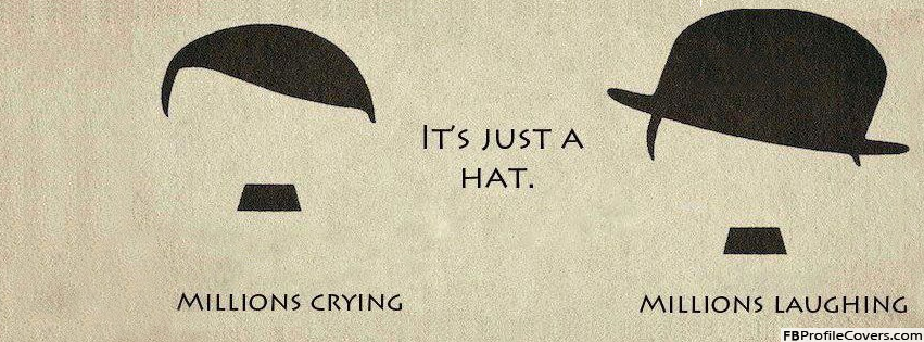 It's Just A Hat Facebook Timeline Cover Photo