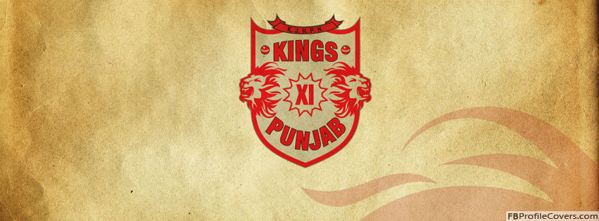 Kings XI Punjab Facebook Timeline Cover