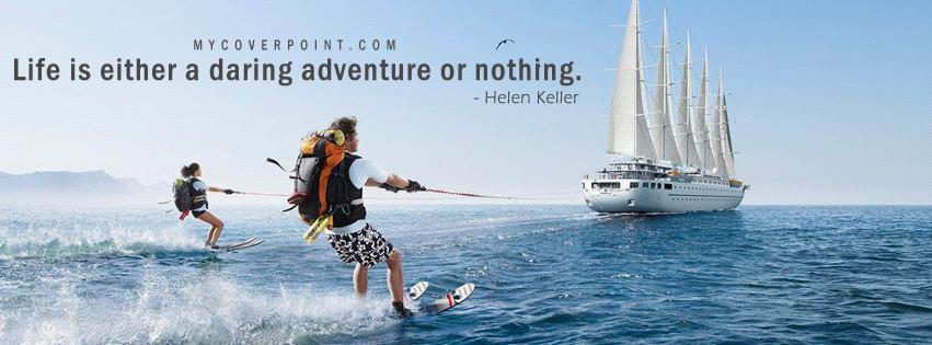 Life Is Adventure Facebook Cover