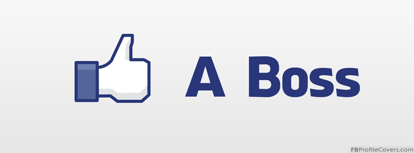 Like A Boss Facebook Timeline Profile Cover Photo Banner For FB