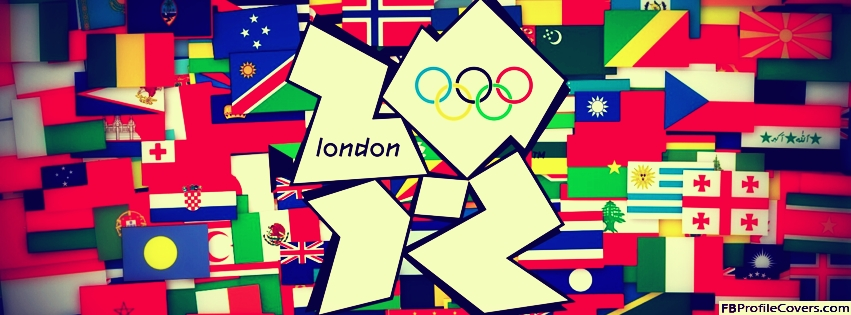 London 2012 Olympics Facebook Timeline Cover Image