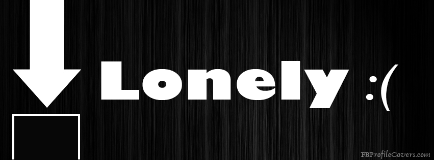 Lonely Facebook Timeline Cover