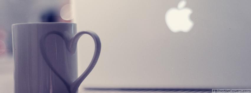 Love Apple Facebook Timeline Profile Cover Banner