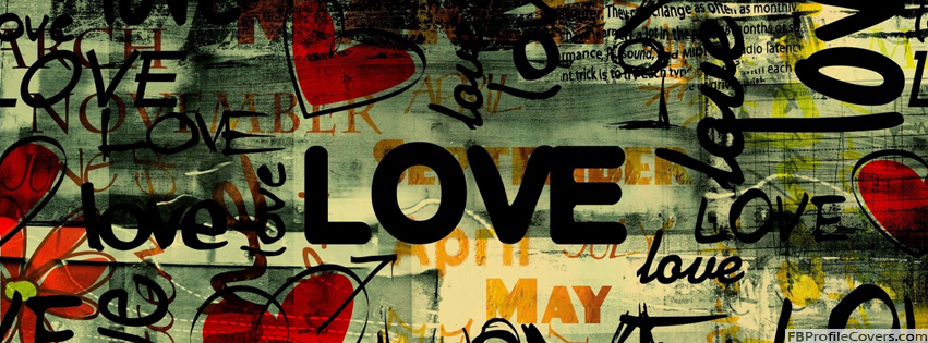 Love Art Facebook Cover