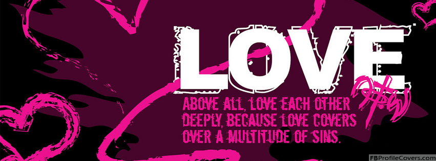 Love Deeply Facebook Cover