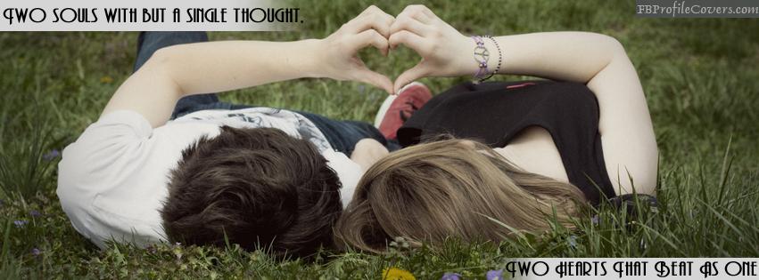 Love Heart Facebook Timeline Cover Image
