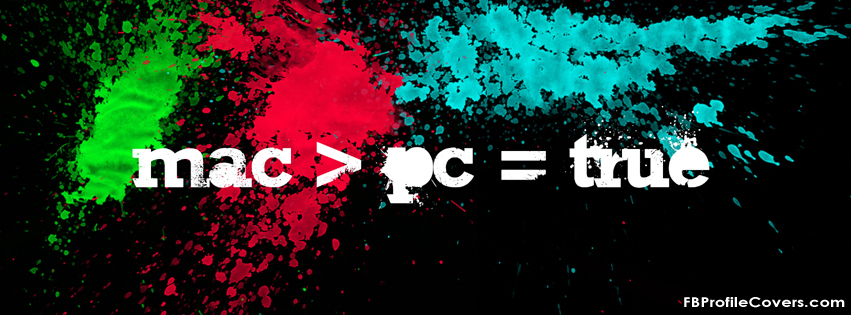 Mac Better Than PC FB Timeline Cover