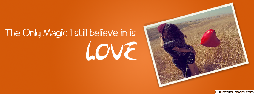 Magic Love Facebook Timeline Banner Picture