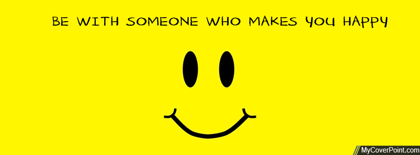 Makes You Happy Facebook Timeline Cover