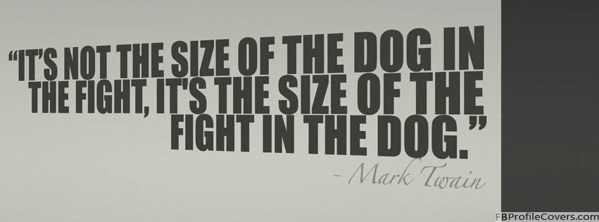 Mark Twain Quote Facebook Timeline Cover