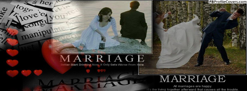 Marriage Troubles Facebook Timeline Cover Photo