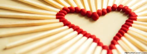 Matchsticks Heart