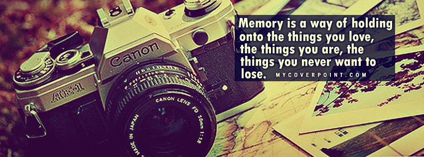 Memory Facebook Timeline Cover