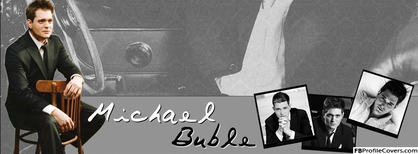 Michael Buble Facebook Timeline Cover