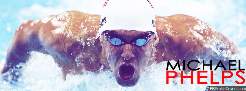 Michael Phelps Facebook Timeline Cover