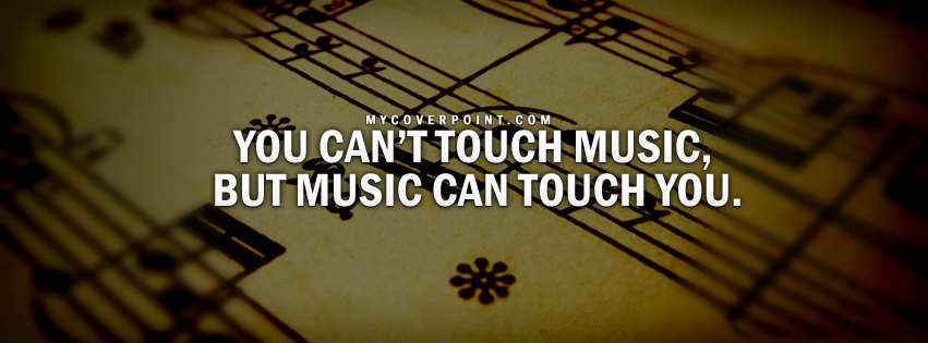 Music Can Touch You Facebook Cover
