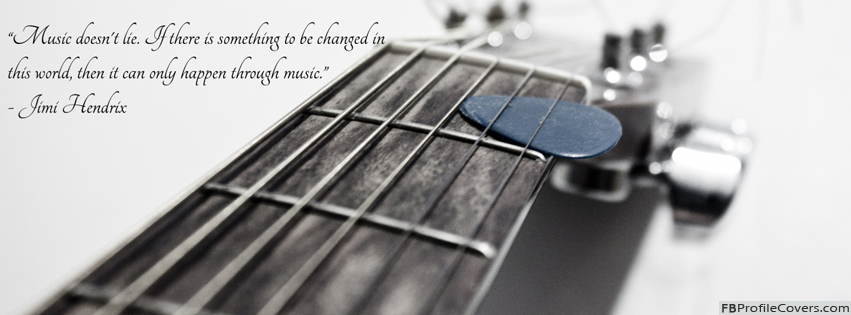 Music Does Not Lie - Facebook Timeline Cover