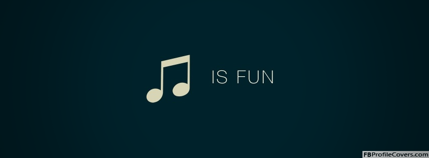 Music Is Fun Facebook Timeline Profile Cover Photo