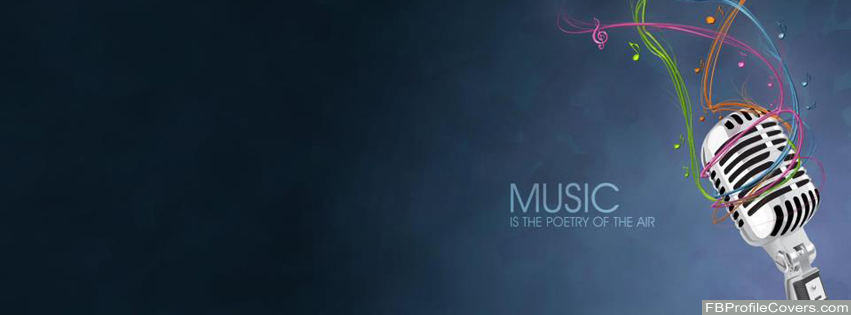 Music Is Poetry Facebook Timeline Profile Cover