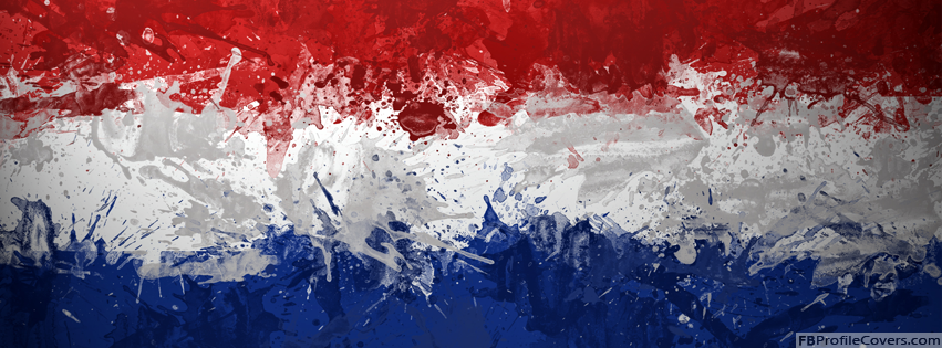 Netherland Holland Flag Timeline Cover Wallpaper