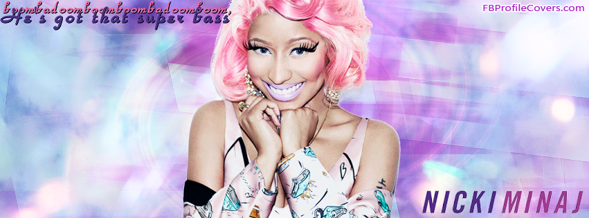 Nicki Minaj Facebook Timeline Cover Banner