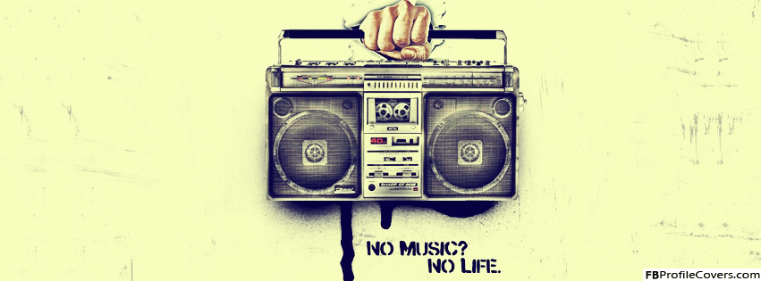 No Music No Life Facebook Timeline Cover